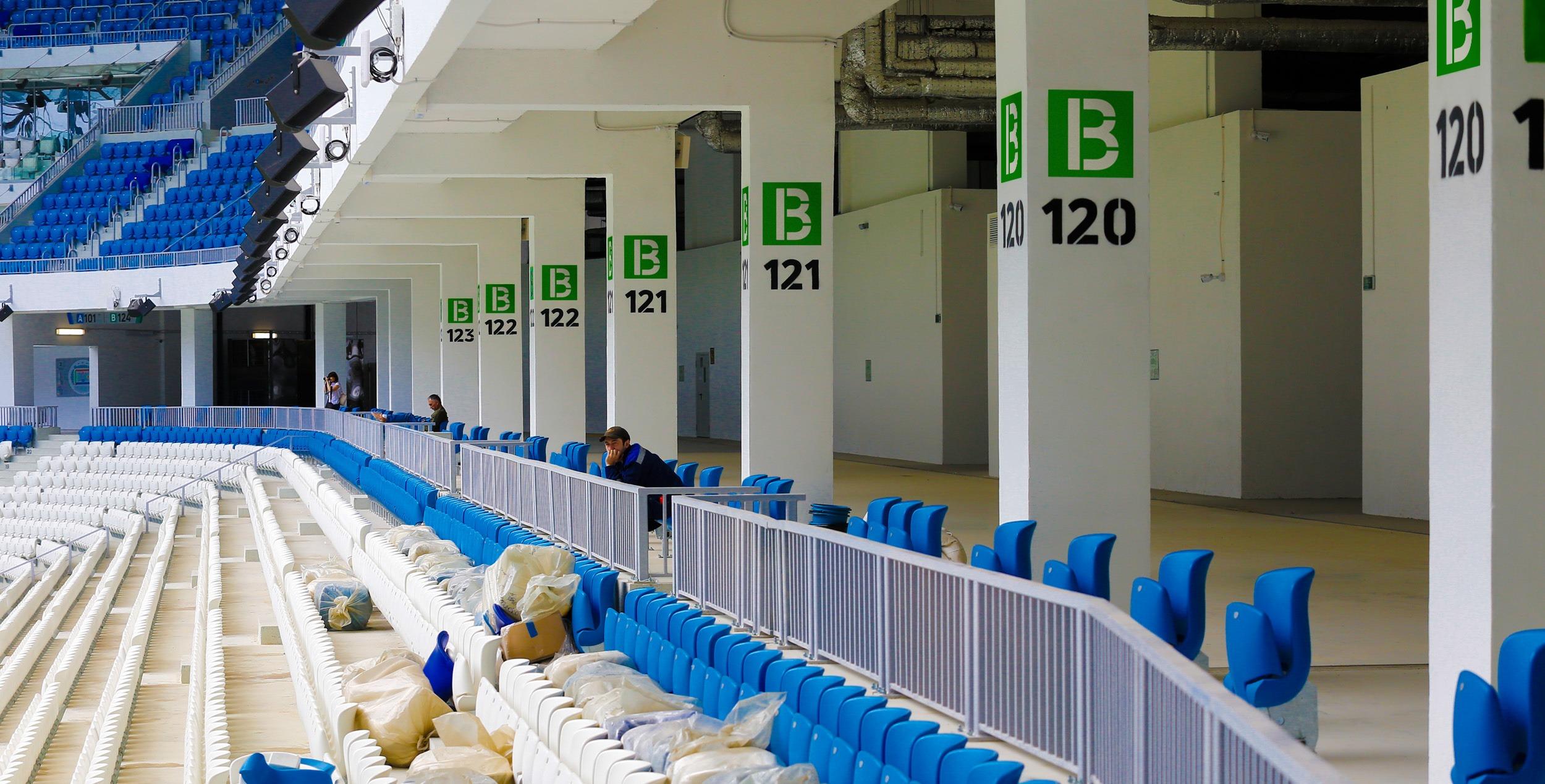 "Volgograd Arena Navigaciya 20 | Навигация на стадионе ""Волгоград Арена"""