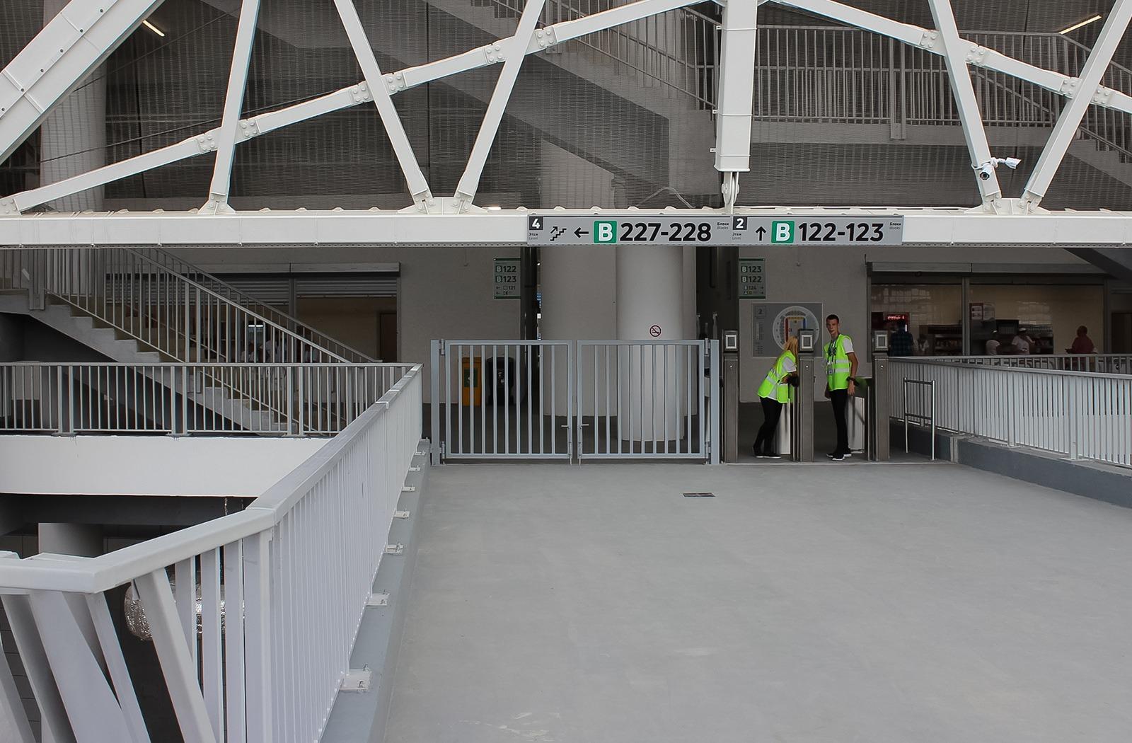 "Volgograd Arena Navigaciya 6 | Навигация на стадионе ""Волгоград Арена"""