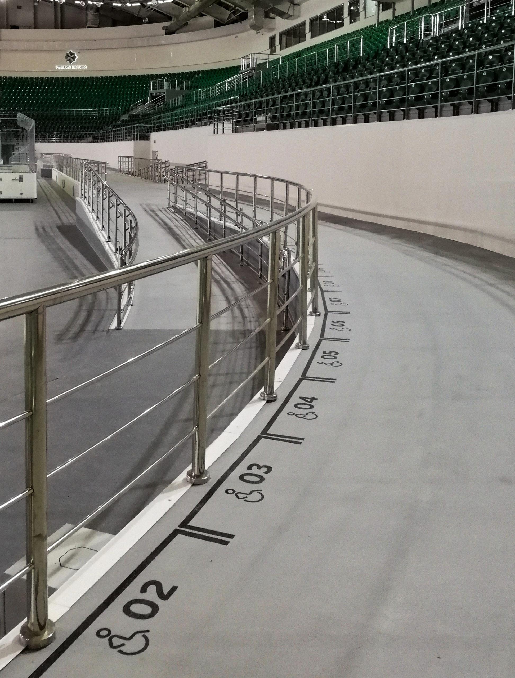 "Dav | Навигация в ледовом дворце ""Платинум Арена"""